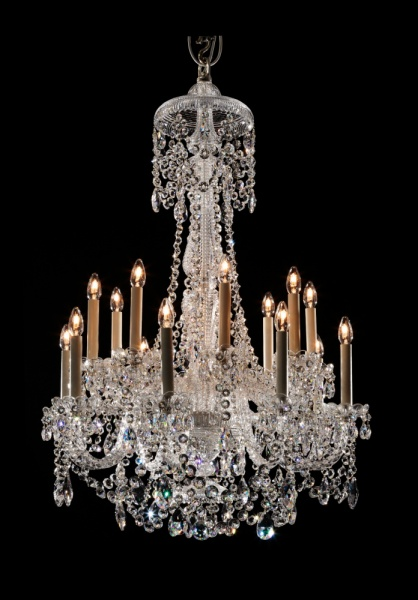 Small 16 light Perry style chandelier