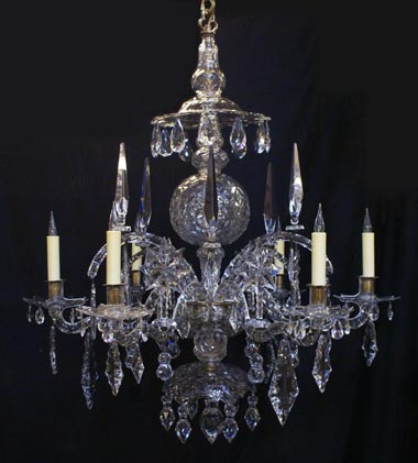 Burghley House chandelier