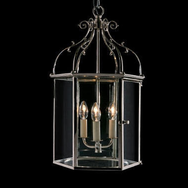 Large nickel hexagonal lantern